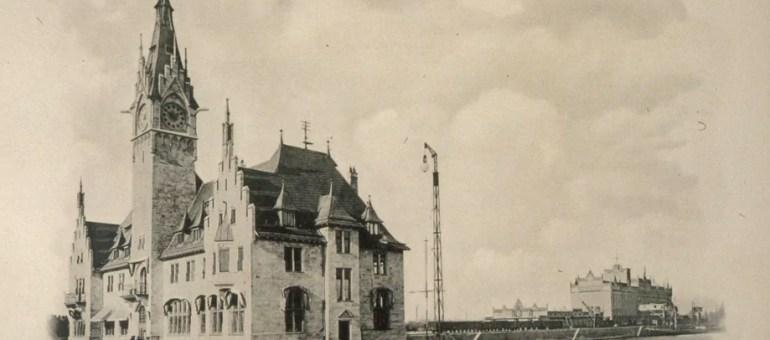 Comment le port de Strasbourg s'est installé sur le Rhin