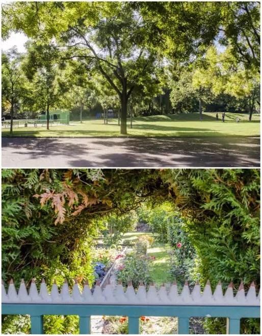 Jardin le long de la rue Stedael - Jardins familiaux imprenables (Photos Quentin Bonvalot)