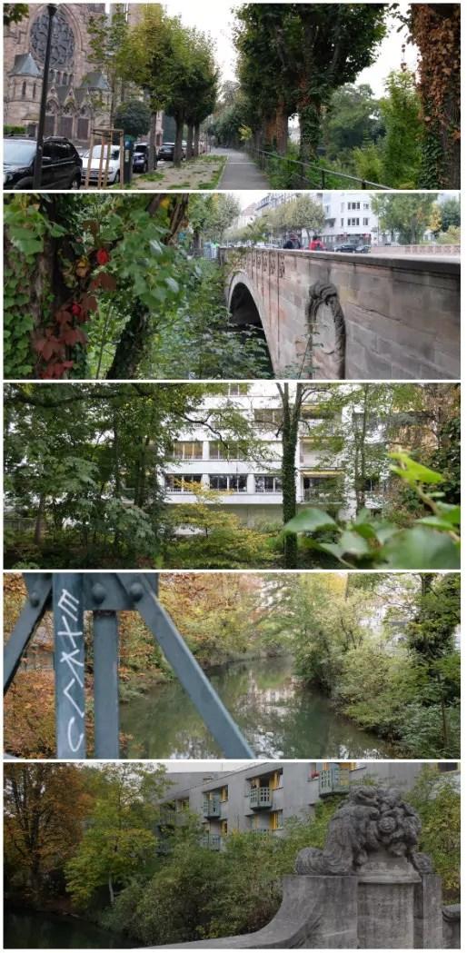 Ponts du l'Aar, au départ du quai Zorn (Photos Marie Marty)