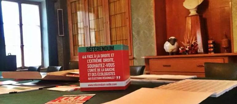 Référendum pour l'unité de la gauche, 93,06% de «oui» dans le Bas-Rhin