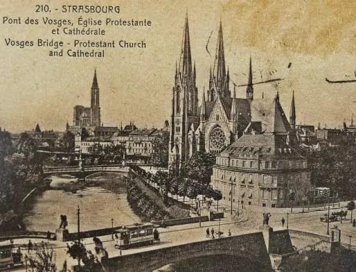 Vue panoramique du sud de l'île Sainte-Hélène - 1935 (Archives Strasbourg)
