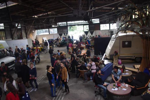 Le festival Salbst Gemacht en 2014 (Photo La Semencerie)