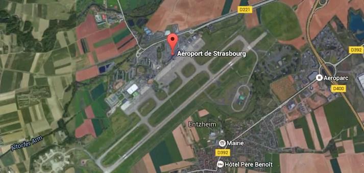 Crash mortel d'un ULM expérimental près de l'aéroport de Strasbourg