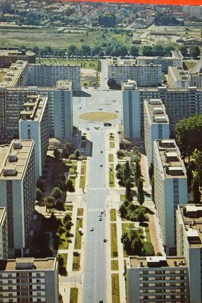 Avenue du Général-de-Gaulle, Esplanade, 1970' (DR)