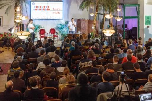 La présentation de la primaire citoyenne, à Paris (photo La primaire)