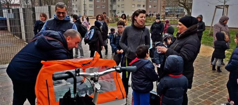 À Hautepierre, le retour du crieur de rue pour connecter les habitants