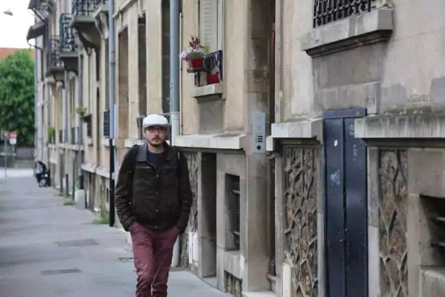 Antoine Deltour à Nancy (Photo LL / Rue89 Strasbourg)
