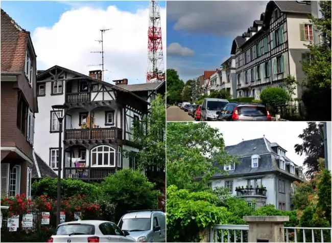 Le quartier résidentiel du Tivoli, édifié au tournant des années 1900 (Photos MM / Rue89 Strasbourg)