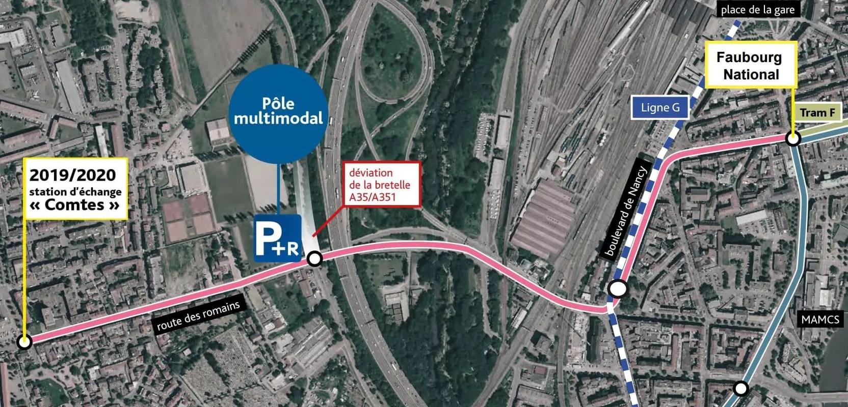 Avis favorable pour l'extension du tram vers Koenigshoffen