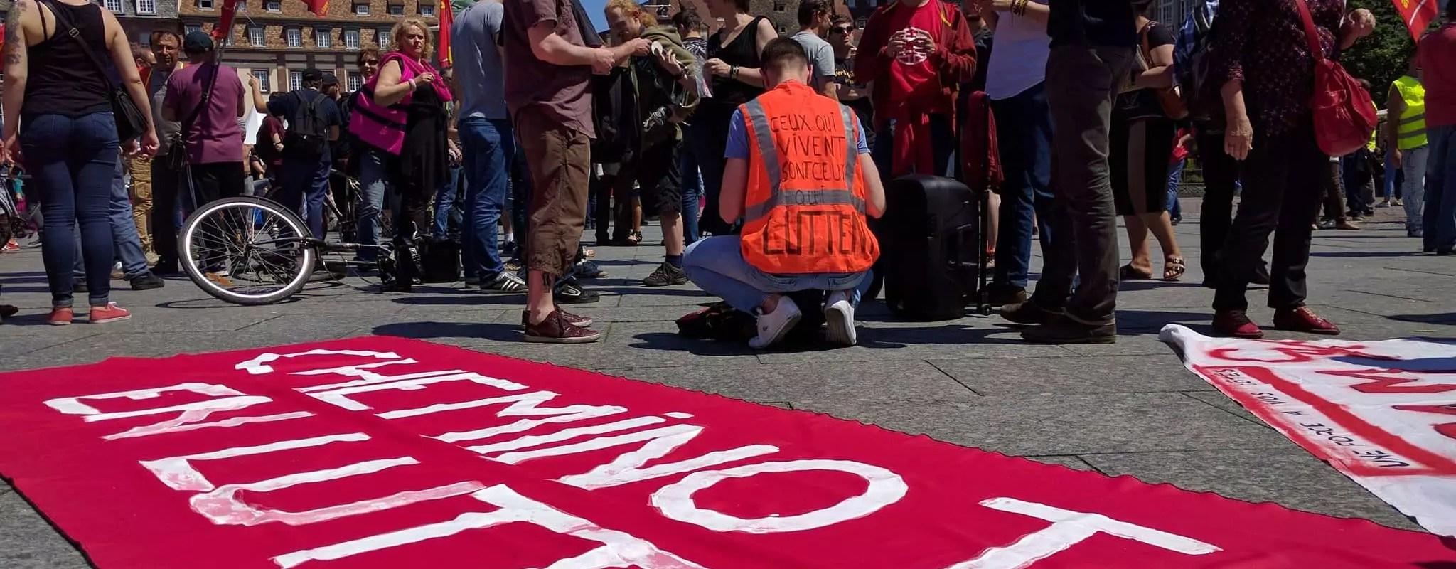 Mardi, 12e manifestation contre la «loi travail»