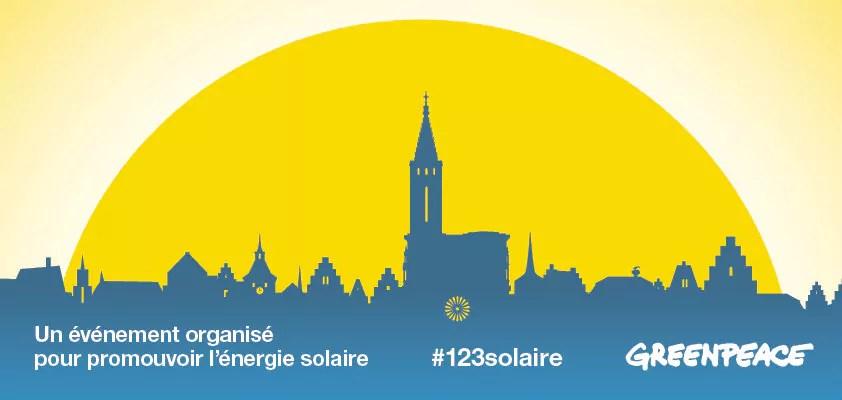 Pour promouvoir l'énergie solaire, Greenpeace fait appel à votre âme d'enfant samedi 8 octobre