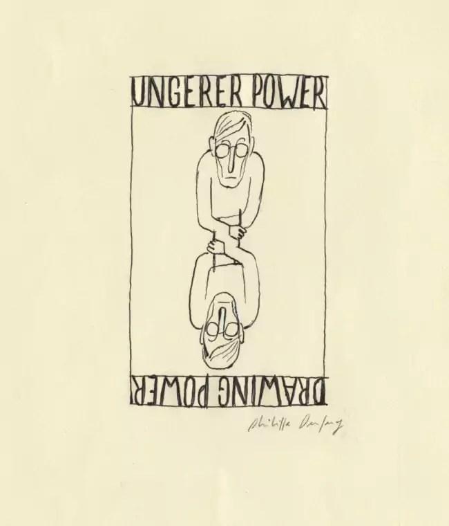 "Philippe Dupuy donne sa vision du ""Ungerer Power"" (Image Philippe Dupuy)"