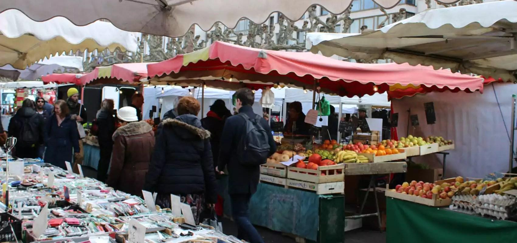 Marché de Noël : les commerçants du marché Broglie craignent d'être les dindons de la farce