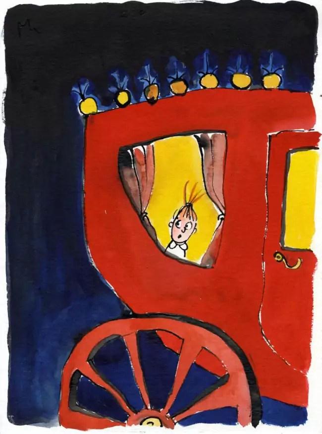 """Grégoire Solotareff """"Mon nom est Tiffany"""" pour l'exposition Tomi Ungerer Forever (Image Grégoire Solotareff)"""