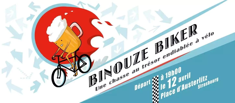 «Binouze biker» mercredi: des équipes, des vélos, des énigmes… et une bière
