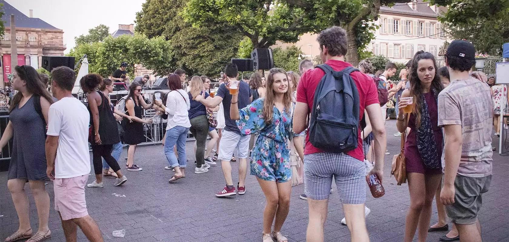 La Fête de la Musique 2017 à Strasbourg, chaleur, frites, rires et des notes…