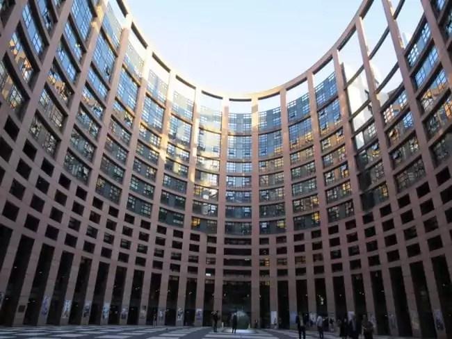Les députés européens se retrouvent à Strasbourg quatre jours par mois, le temps des sessions plénières. (Photo CS / Rue89 Strasbourg / cc)