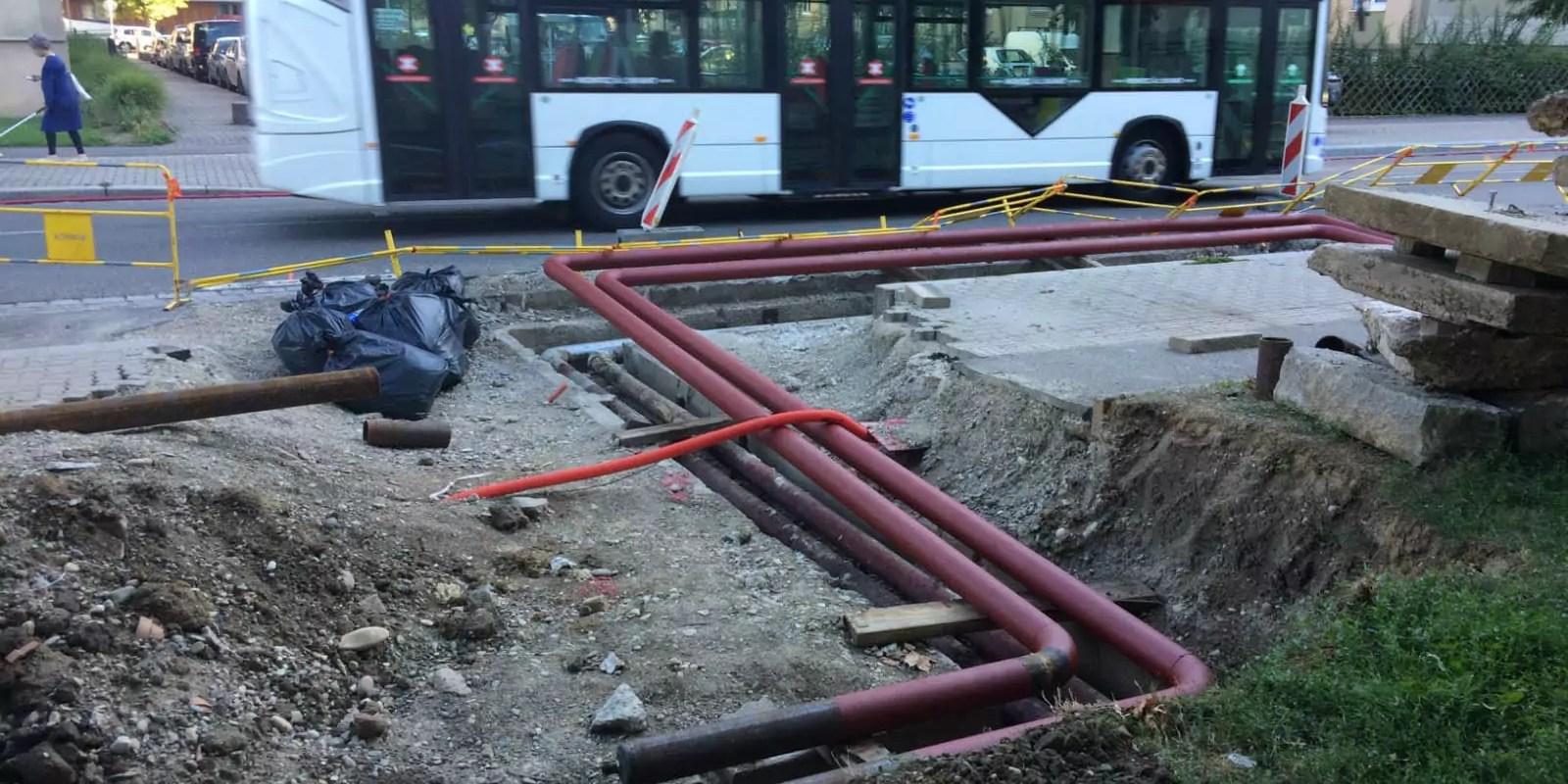 Après les pannes de l'hiver, des travaux sur le réseau de chaleur de l'Esplanade