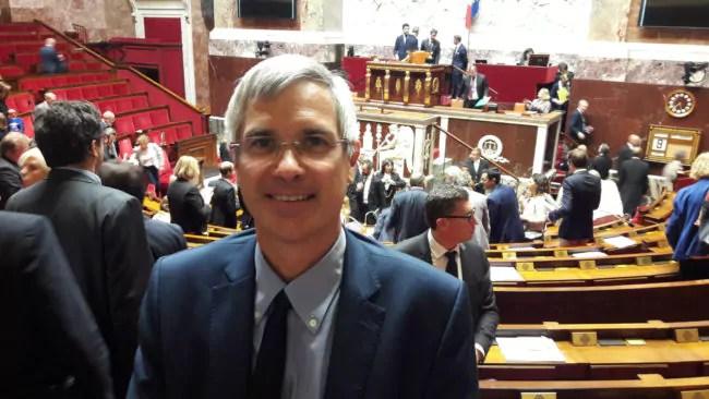 Au Palais Bourbon, Thierry Michels dit s'être fait rapidement aux rouages de la représentation nationale (Photo wikimedia / cc)