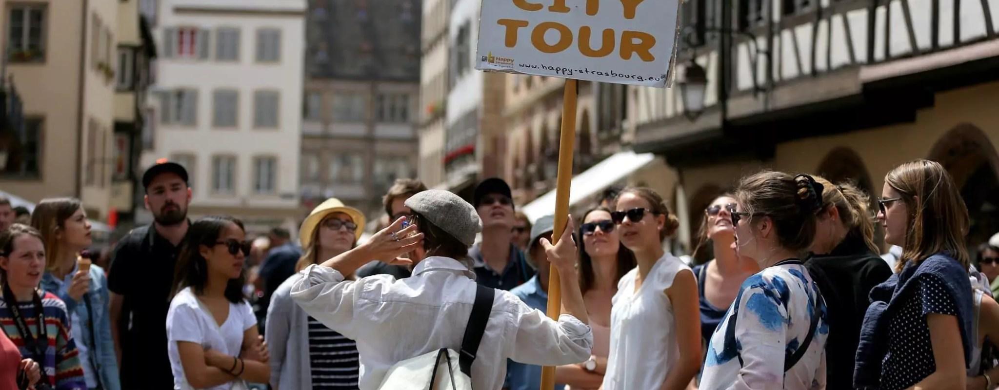 Le succès des «free tours» inquiète les guides-conférenciers