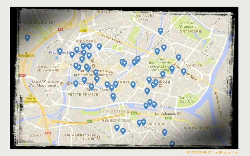 Une carte collaborative pour recenser les vélos volés à Strasbourg