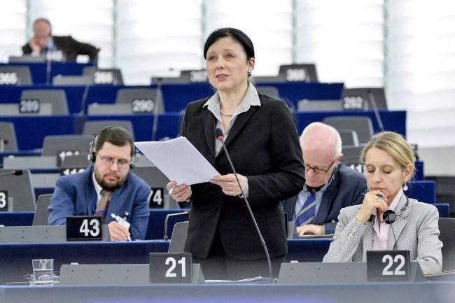 Vera Jourova commissaire européenne