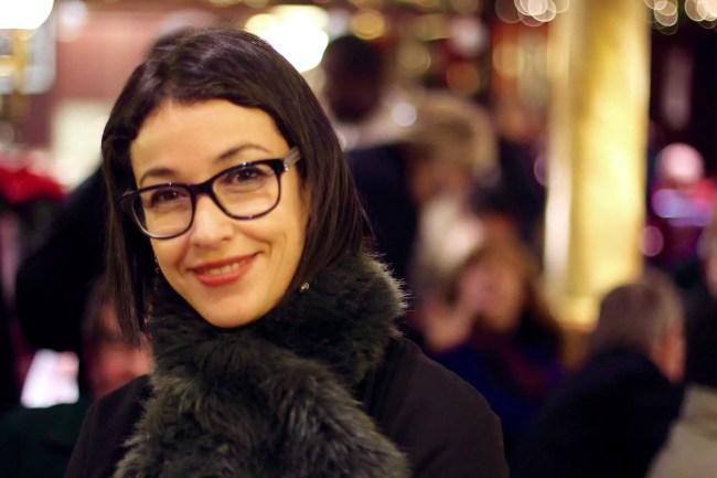 Lilla Merabet en décembre 2015 (Photo Jean-Philippe Vetter / Facebook)