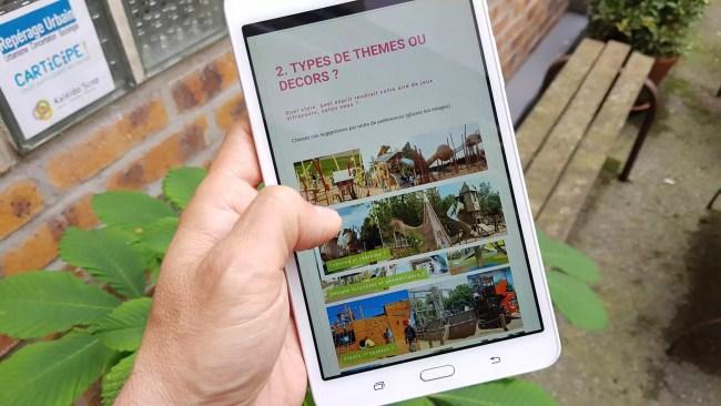 Un questionnaire pour éviter les ratés des précédents parcs de jeux pour enfants (Photo Repérage Urbain)