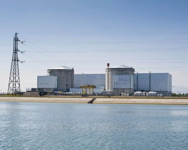 La centrale nucléaire de Fessenheim. (Photo Pascal Bastien / Divergence)