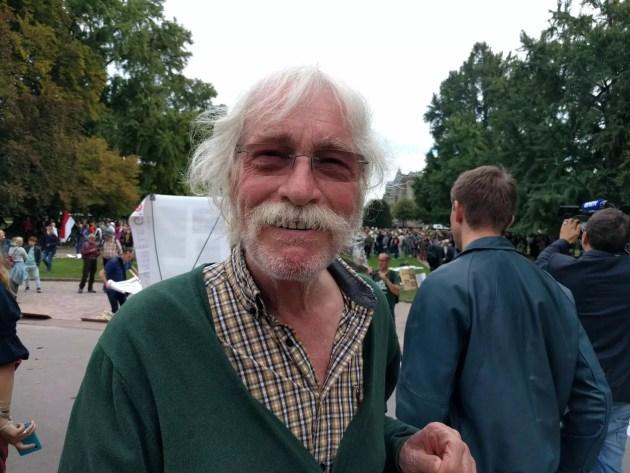 Michel Dupont est prêt à entamer une grève de la faim (Photo PF / Rue89 Strasbourg / cc)