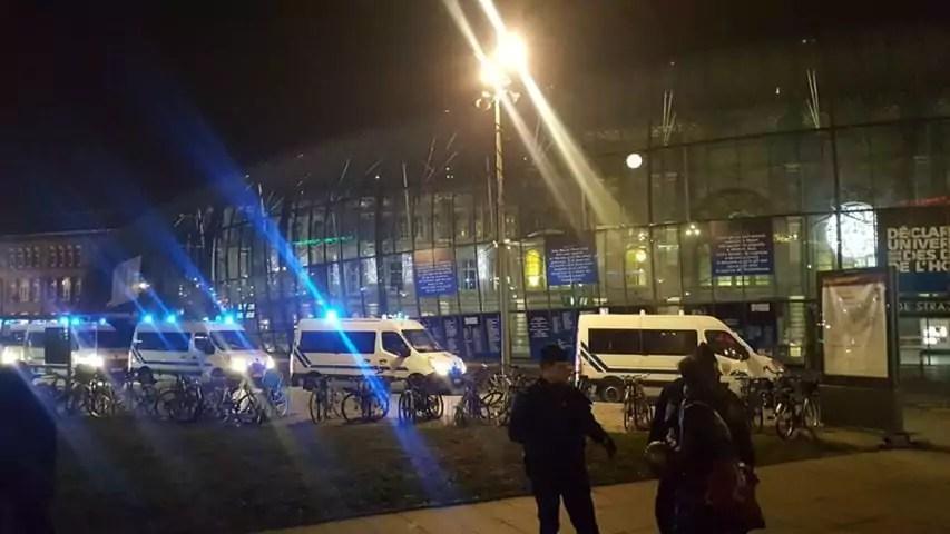 Après une alerte à la bombe, la gare de Strasbourg évacuée pendant plus de deux heures