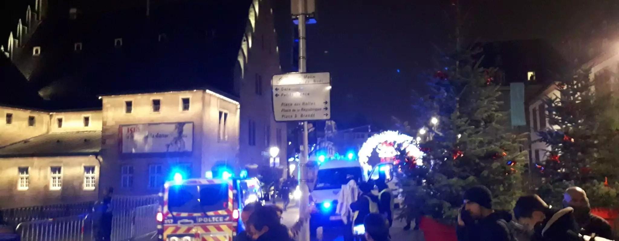 Coups de feu dans le centre-ville de Strasbourg, trois morts et treize blessés
