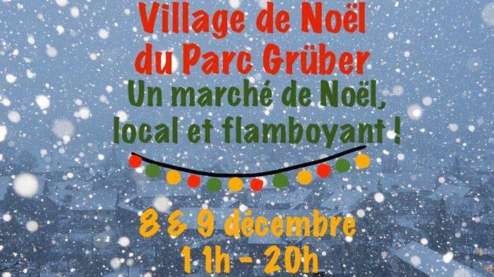 Ce week-end, un village de Noël à Grüber, un parc d'activité prometteur