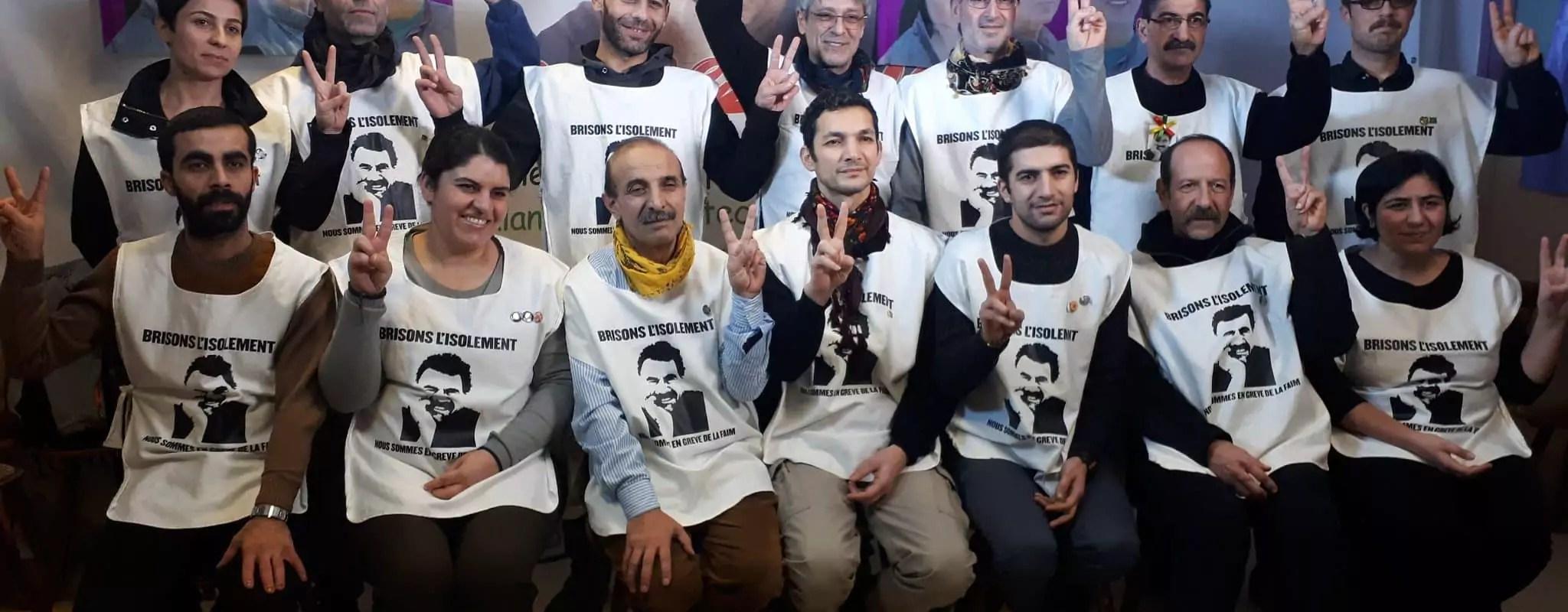 Pourquoi des militants kurdes sont en grève de la faim à Strasbourg depuis décembre