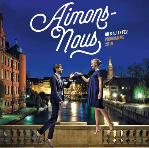 ...mais dans les règles, nous disent le jeune homme au mocassin et la jeune femme aux talons hauts (Capture d'écran du programme de Strasbourg mon amour)
