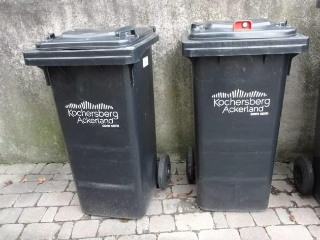 Les poubelles du Kochersberg s'équipent de cadenas.