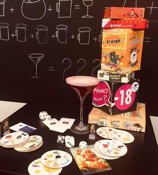 le bar à cocktails et jeux l'Algorythme