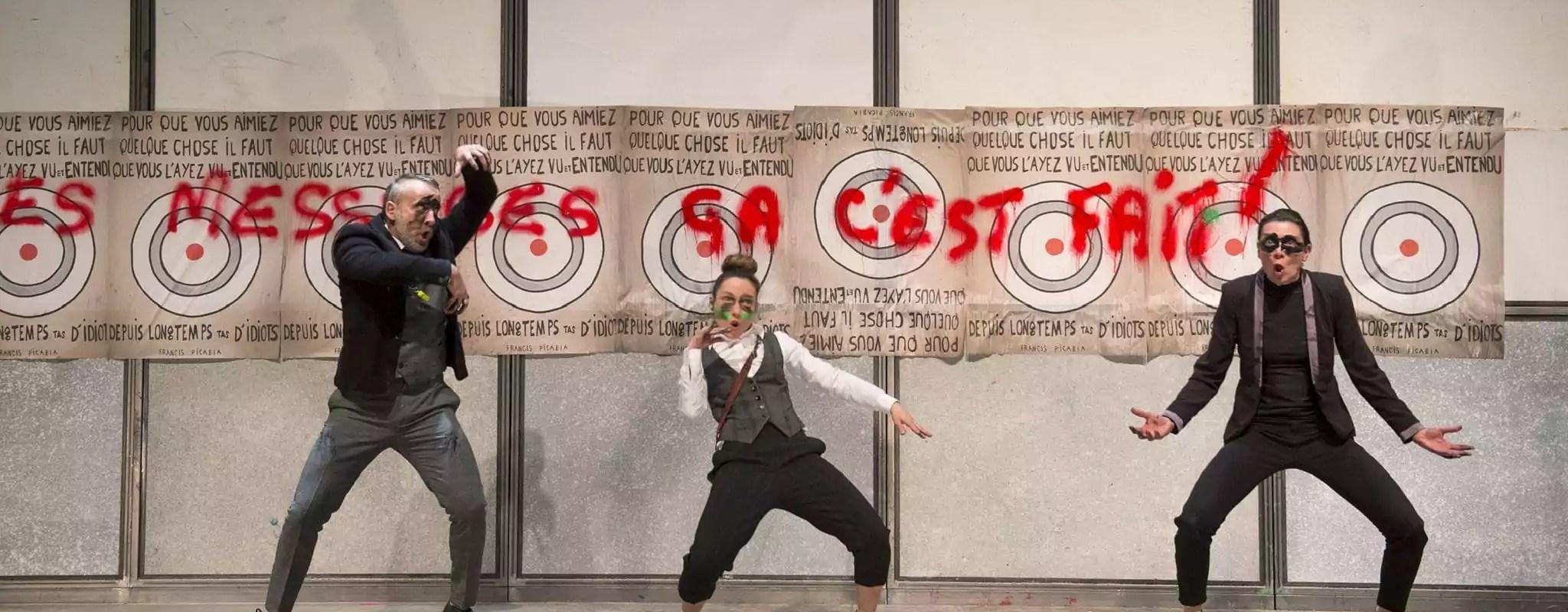 Ça Dada, le chaos artistique s'installe au théâtre de Hautepierre