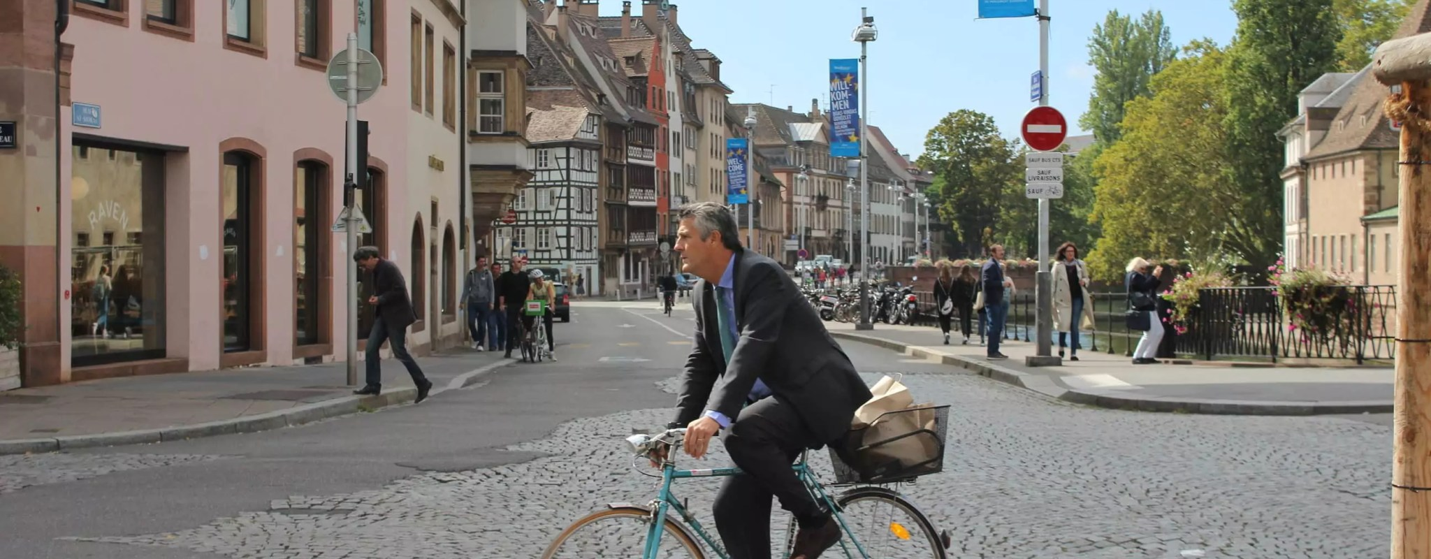 Les cyclistes attendent toujours leur grand contournement du centre