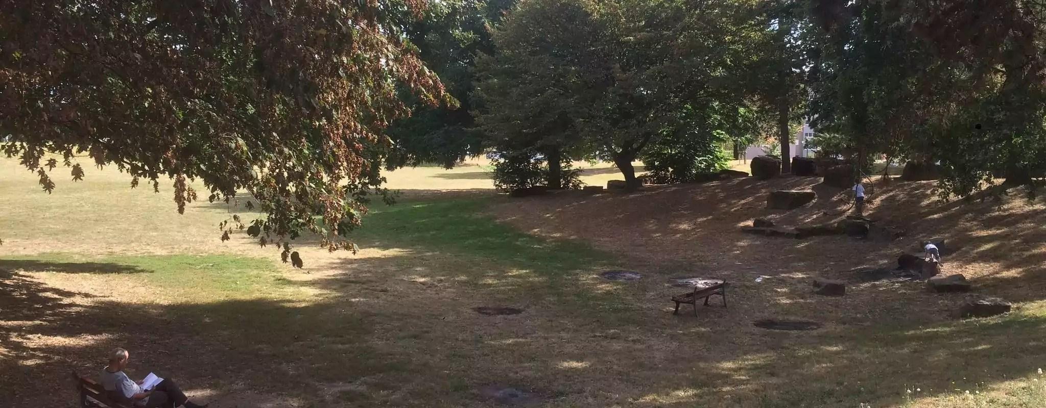 À Hautepierre, les habitants attachés à la Plaine des jeux, le «Central Park» du quartier