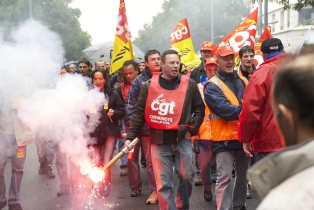 Manifestation retraite à Lyon (Photo Aurélien Callamard / FlickR / cc)