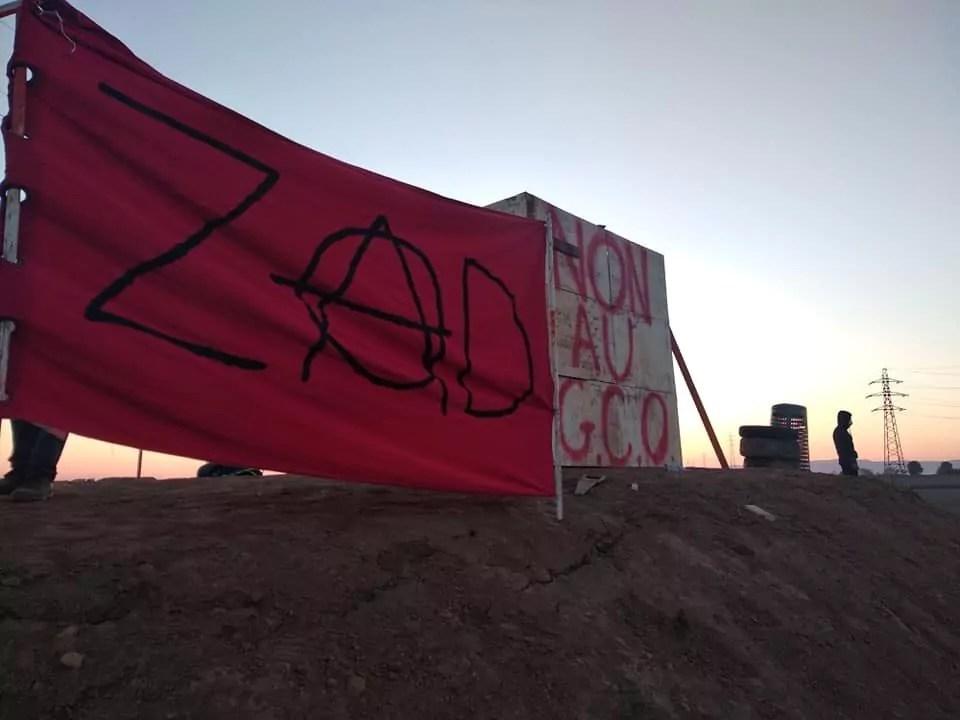 Des peines de prison confirmées en appel pour des militants anti-GCO