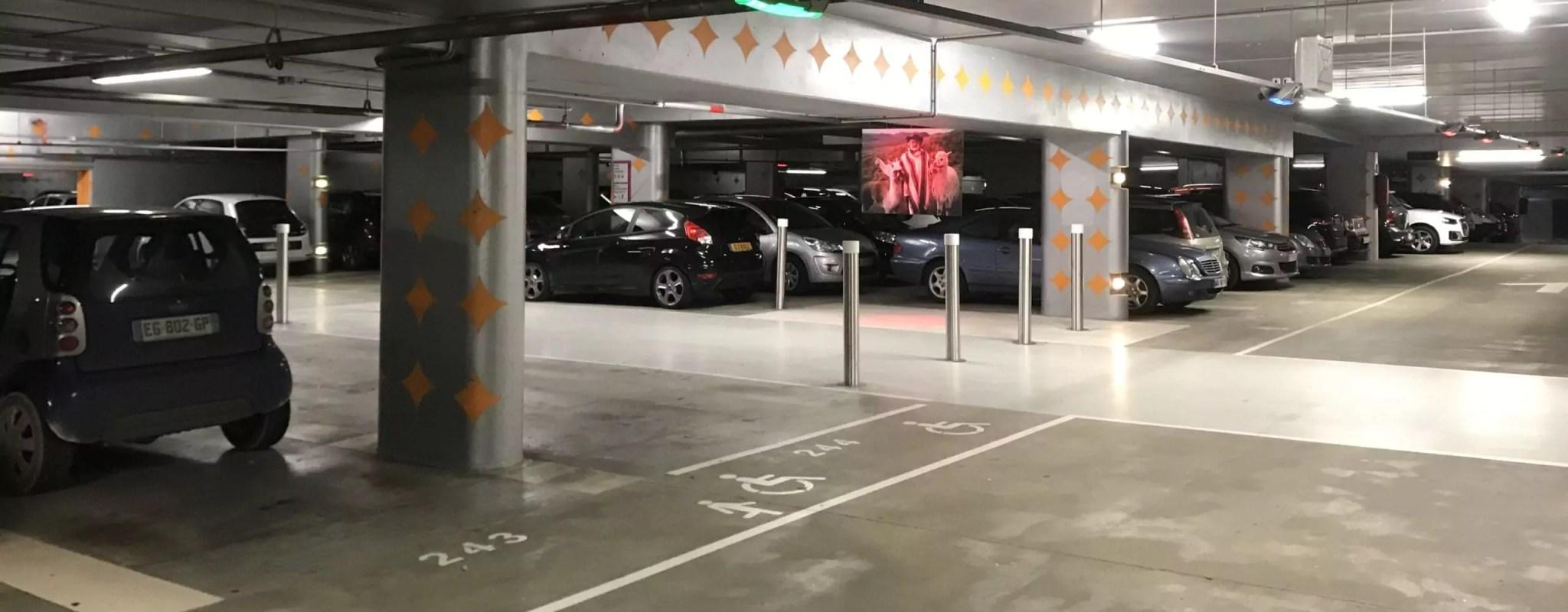 Le parking du musée d'art moderne coûte trois fois plus cher aux habitants du quartier Laiterie qu'à ceux du centre