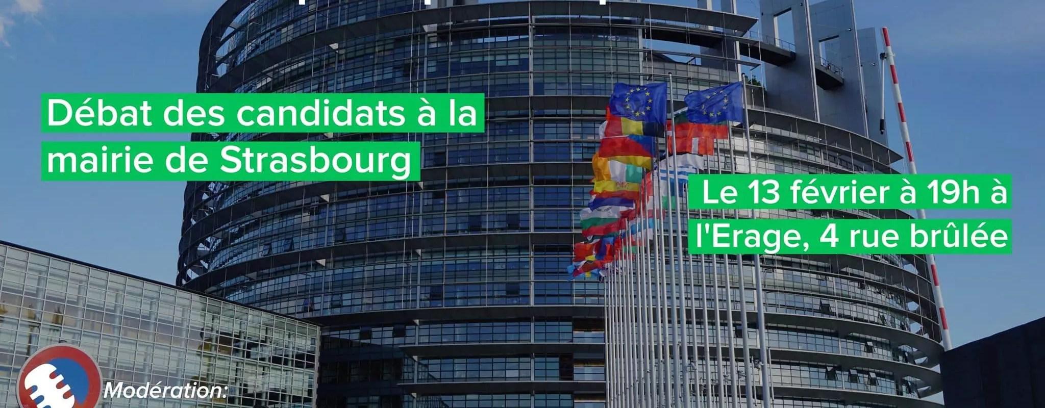 Municipales: Jeudi, six candidats débattent de l'Europe à Strasbourg