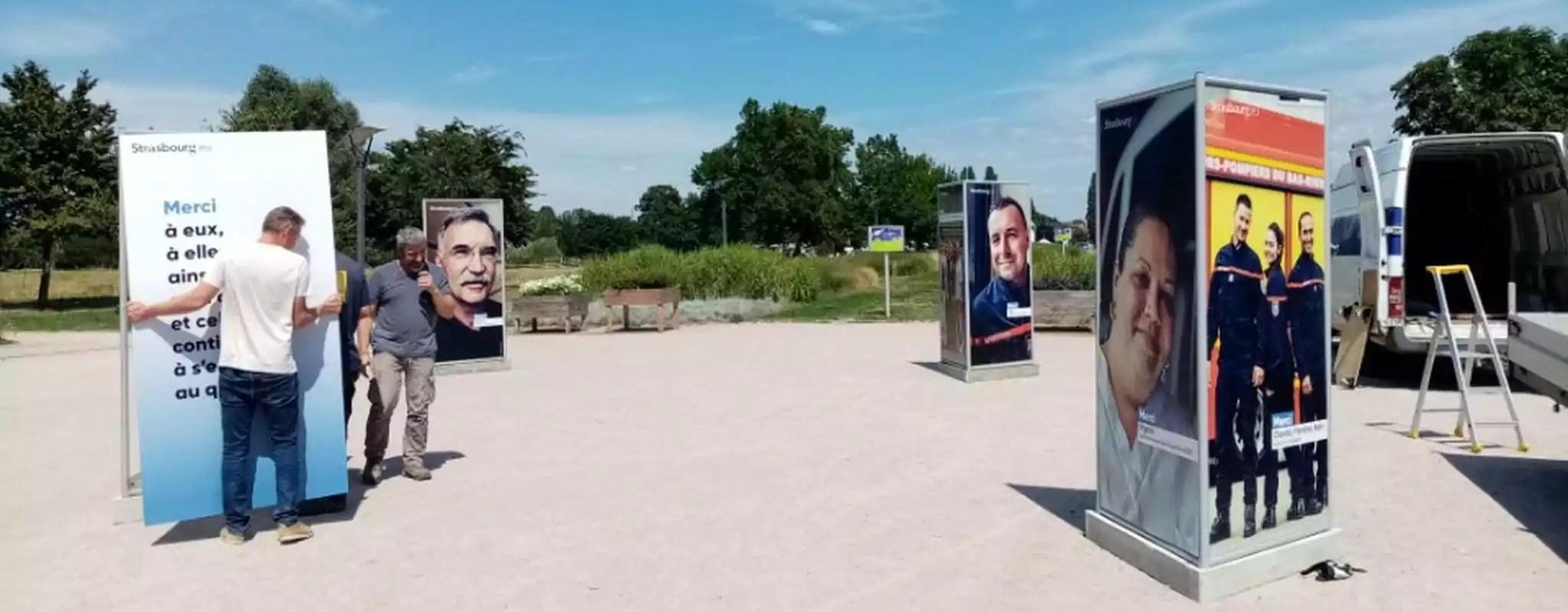 Aux Deux-Rives, une exposition des métiers de la crise