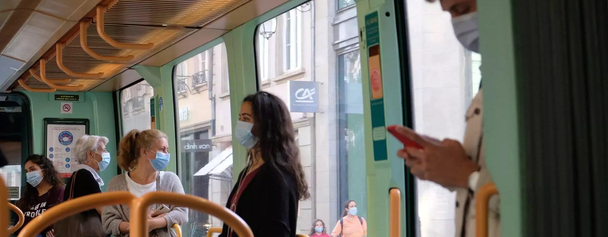 Mardi, la pollution aux particules entraîne la gratuité des transports en commun