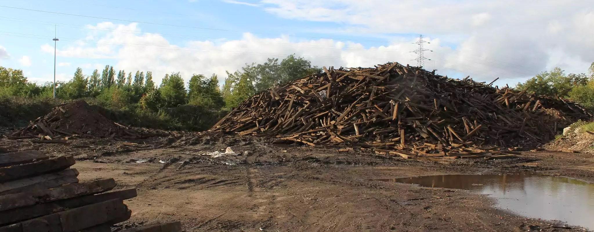 Bois toxique au Port du Rhin: les traverses seront brulées pour chauffer Berlin