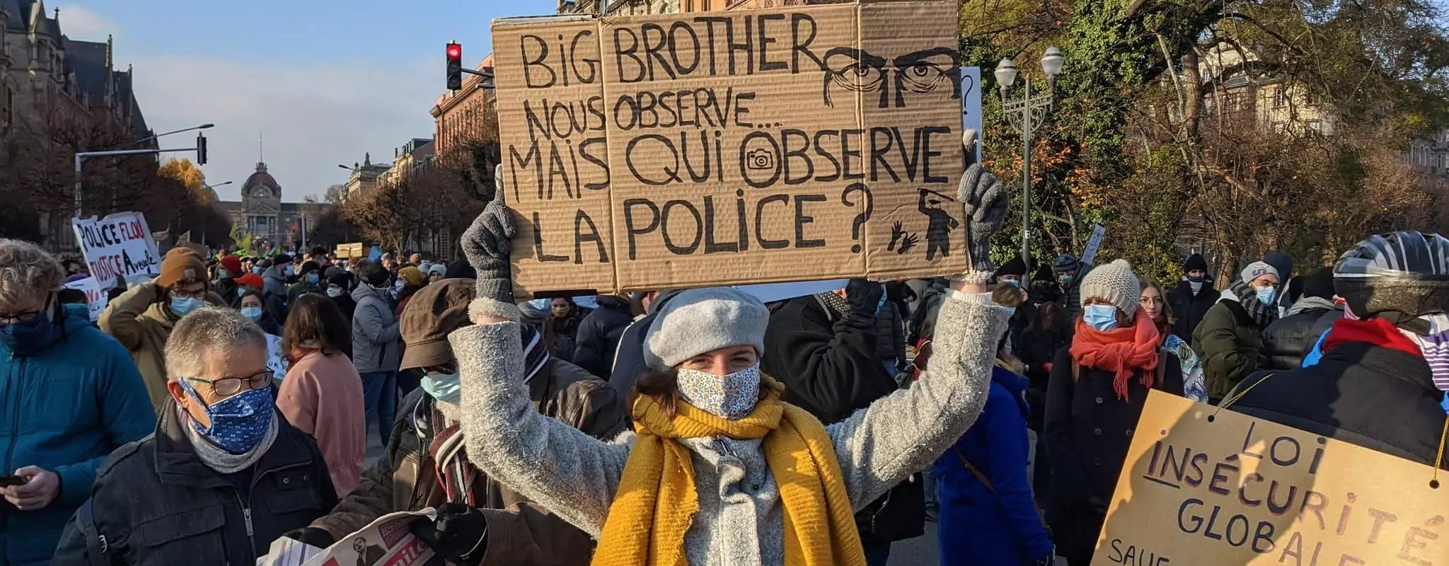 Neuvième manifestation contre la loi «sécurité globale» samedi