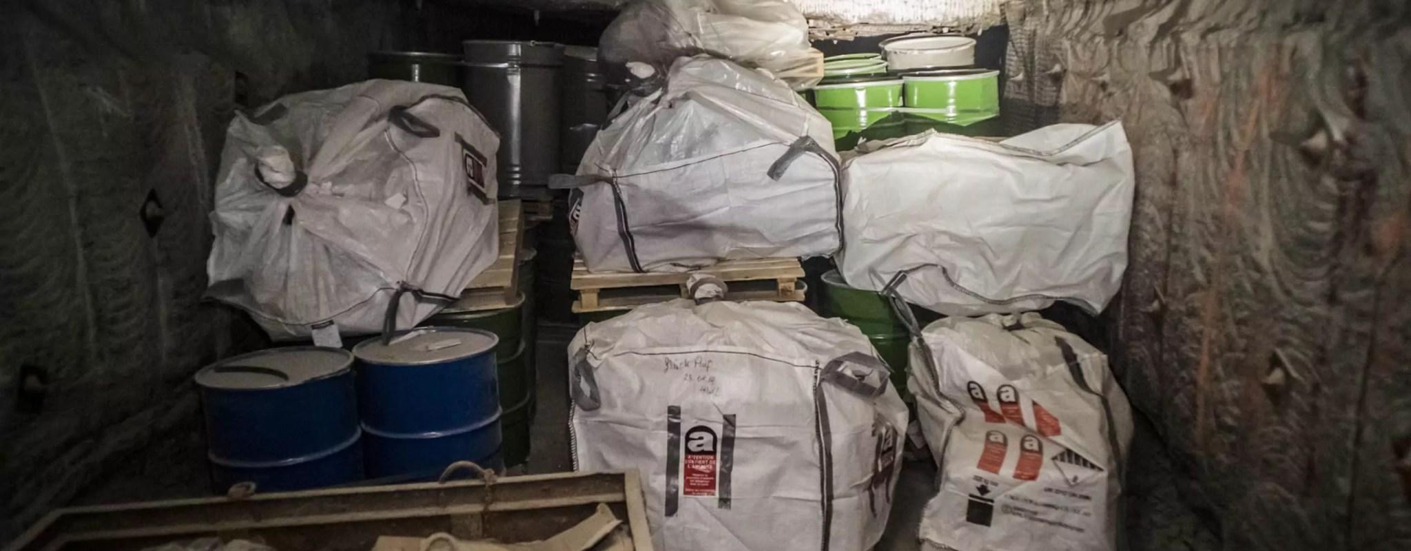 Les déchets toxiques de Stocamine, à nouveau enterrés par le gouvernement?