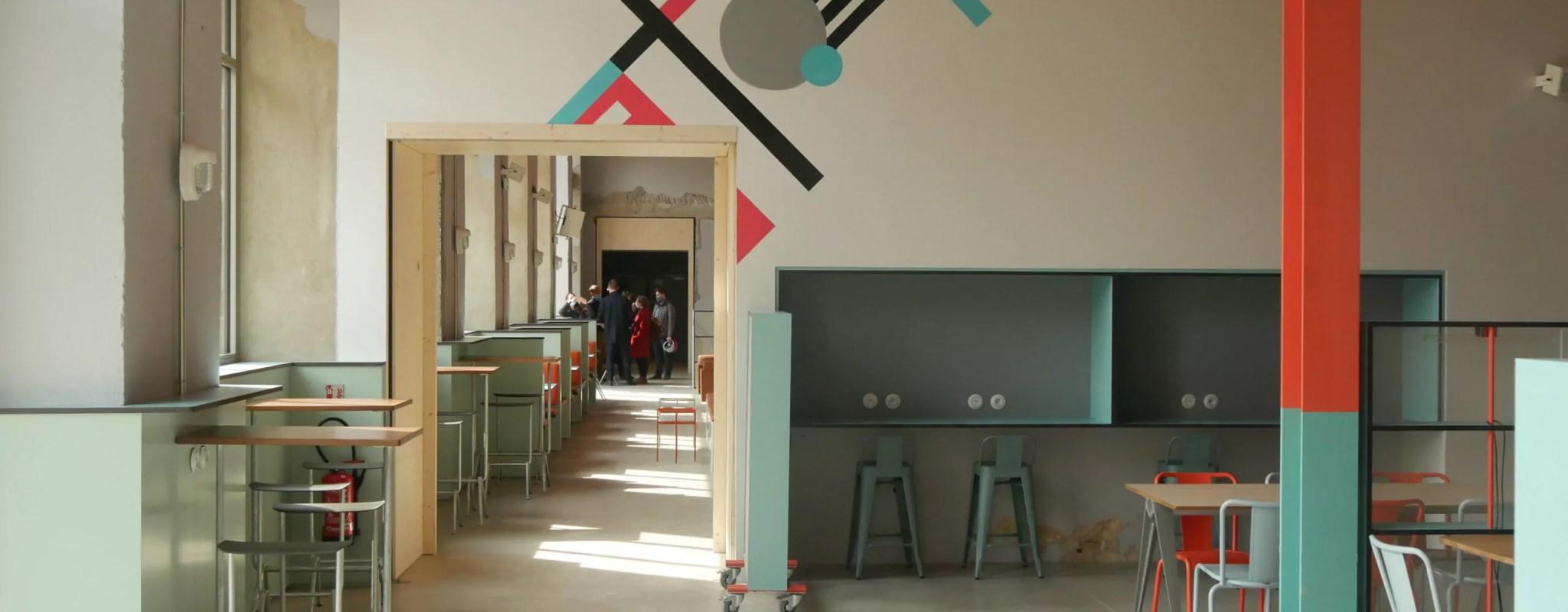Auberge de jeunesse, écoles, startups et restaurants… Premières photos de la Manufacture en chantier